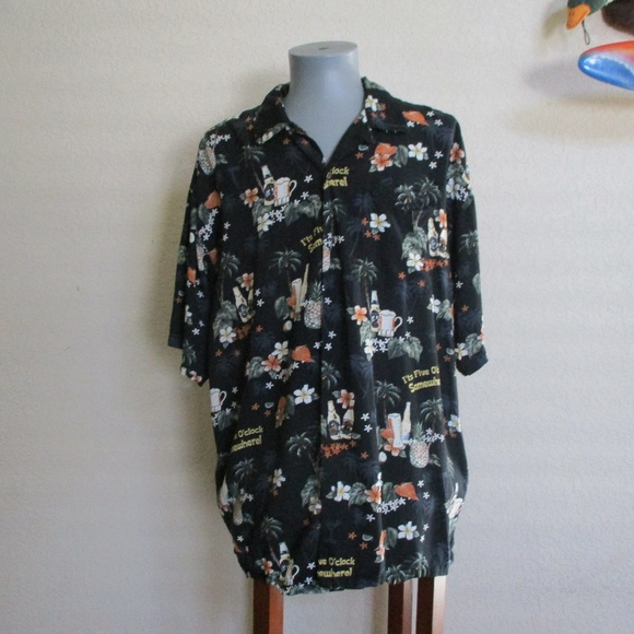 BIG DOGS Other - Big Dogs It`s 5 O`Clock Somewhere Button Down